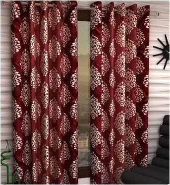 Attractive Printed Polyester Door Curtains