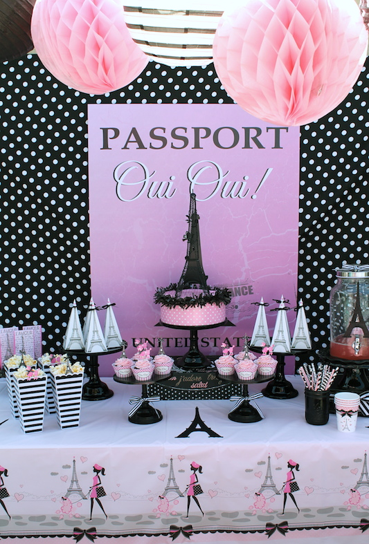 Paris Themed Painting Party Lauras Little Party