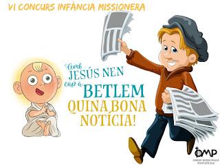 OMP, CONCURS INFÀNCIA MISSIONERA, REVISTA GESTO