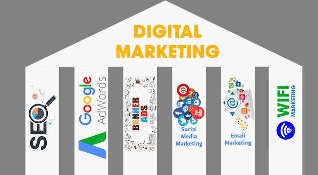 Vị trí wifi marketing trong digital marketing