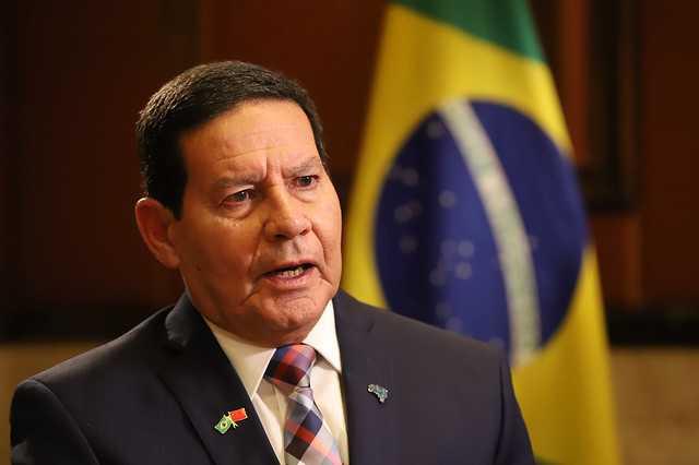 Pronunciamento do Sr. Vice Presidente Hamilton Mourão