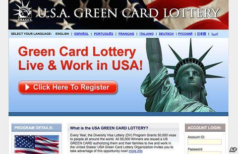 طريقة التسجيل في البطاقة الخضراء الامريكية 2016 Usa Green Card