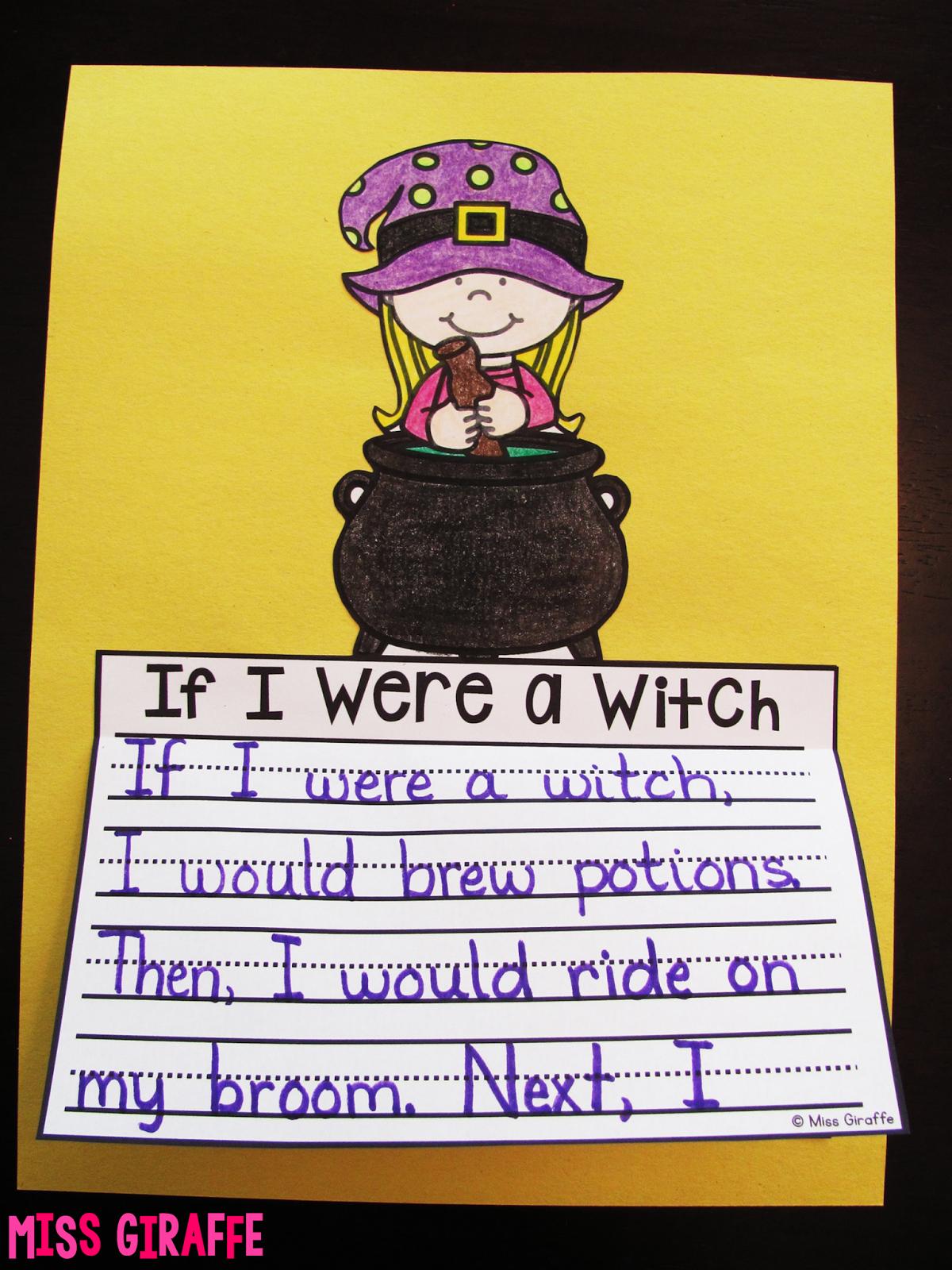Miss Giraffe S Class October Writing Crafts For Kids