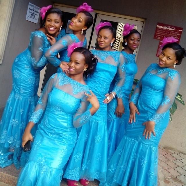 Nigerian Wedding Bridesmaids: Collection Of Female Traditional Wedding/Attire In Nigeria