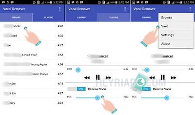 Mengubah Lagu Mp3 menjadi Karaoke di Android