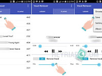 Cara Menghilangkan Vokal atau Suara Lagu MP3 Di Android