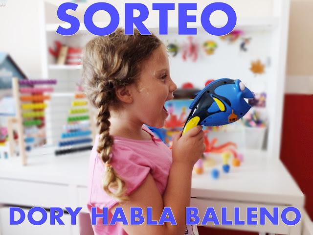 sorteo juguete dory habla balleno de Bandai - Buscando a Dory Disney
