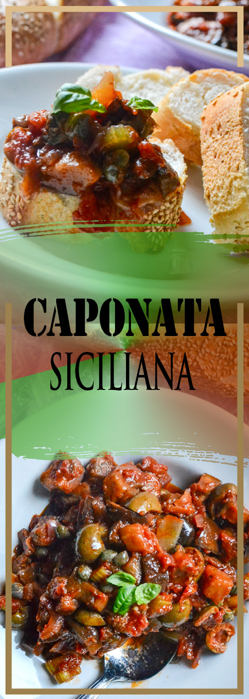 CAPONATA SICILIANA RECIPE