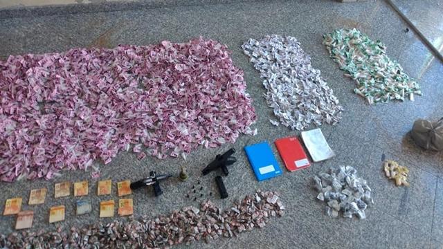 Bom Jardim: Homem é preso no BNH com drogas, pistolas e granada