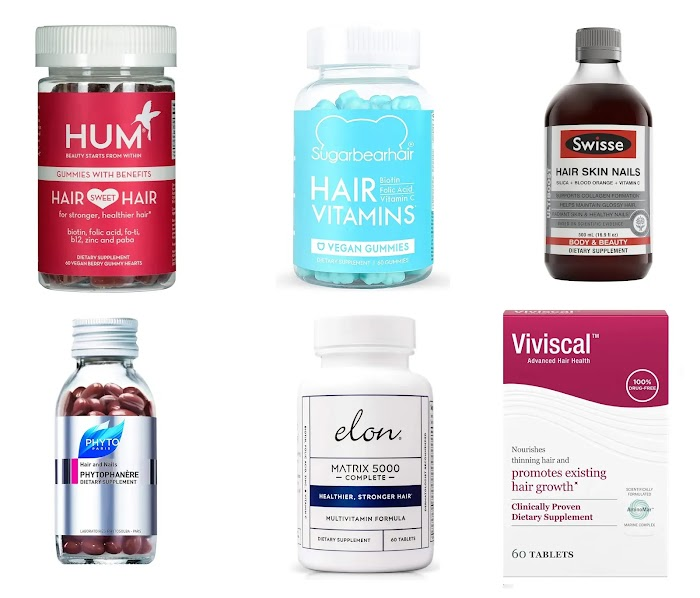 The 10 Best vitamins for hair growth and Thinning Prevention