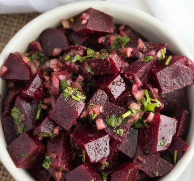 Moroccan Beet Salad #vegan #recipevegetarian