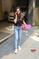 Cute Esha Gupta in Black T Shirt and Denim Jeans ~  Exclusive Galleries 007.jpg