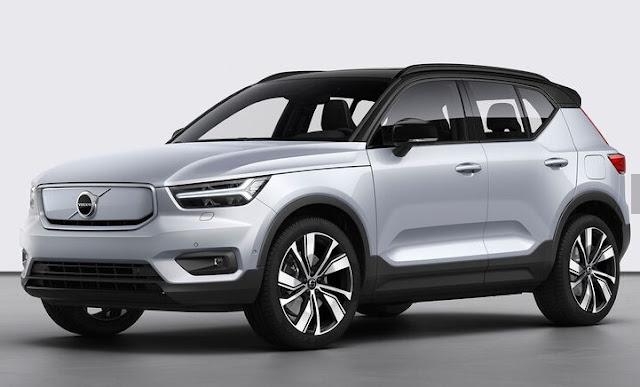 2020 Volvo XC40 - первый электромобиль Volvo в будущем