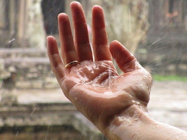 Rain drop love messages for him and her