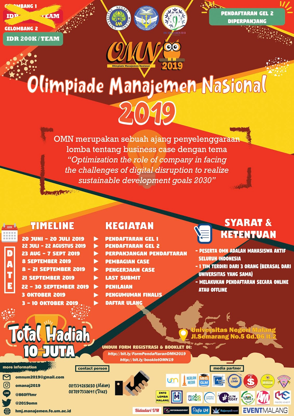 OMN (Olimpiade Manajemen Nasional) Business Case Competition 2019