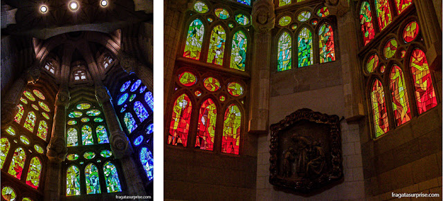 Vitrais da Basílica da Sagrada Família