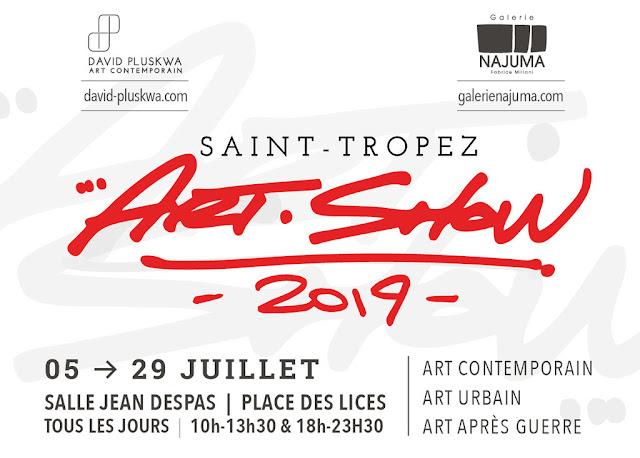 Art Show w Saint-Tropez