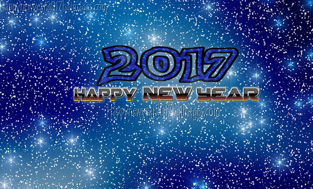 Happy New Year 2017 Full HD Desktop Sparkling Wallpapers