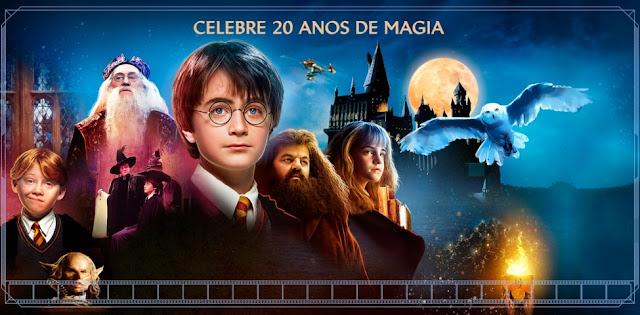 'Harry Potter e a Pedra Filosofal' será relançado no Brasil com 'Modo Mágico'! | Ordem da Fênix Brasileira