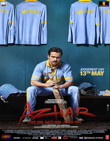 Azhar 2016 Hindi 450MB BRRip 720p ESubs HEVC