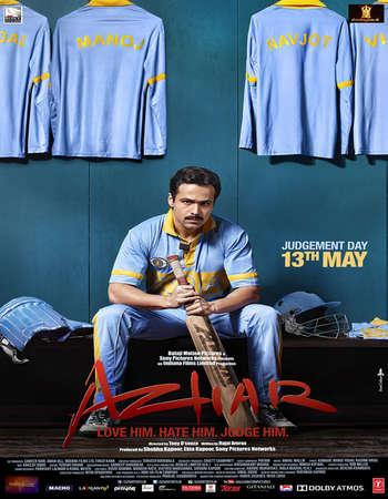 Poster Of Azhar 2016 Hindi  300MB    Watch Online Free Download Worldfree4u