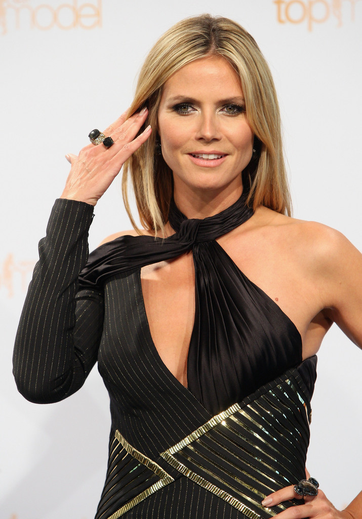 Heidi Klum: Heidi Klum At Germany's Next Top Model