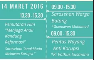 EVENT: Batang | 14 Maret 2016 | Festival Anggaran Kabupaten Batang 2016