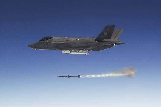 F-35 weapon missile bomb test