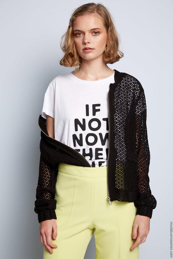 Camperas de verano 2020 moda mujer.