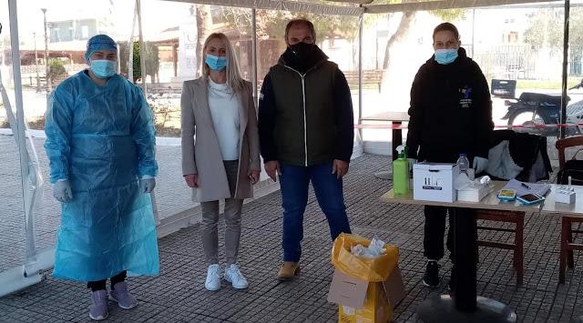 Αρνητικά και τα 120 rapid test στο Λάλουκα Αργολίδας