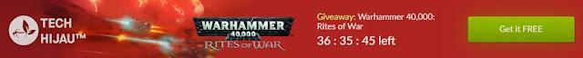 Masa Berlaku Klaim Game Warhammer 40,000: Rites of War Gratis di GOG Store