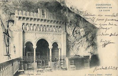 Postal Covadonga, Ed. Hauser y Menet