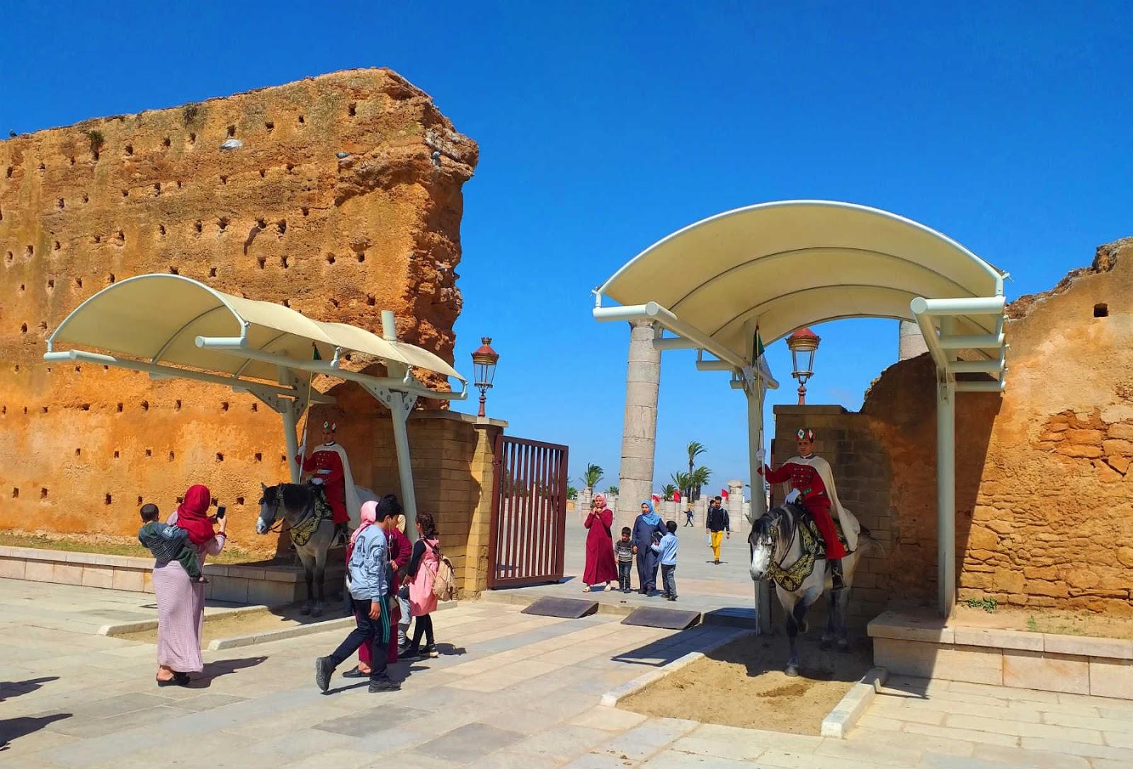 Torre Hassan e Mausoléu Mohammed V