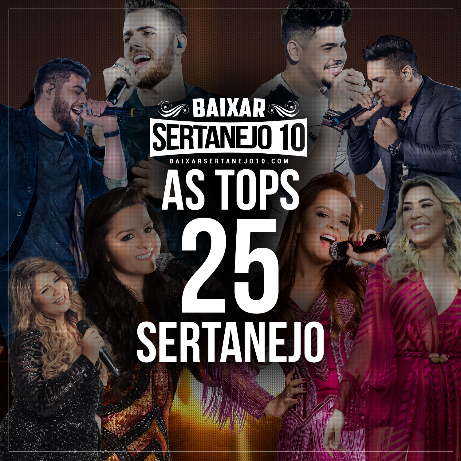 CD As TOPs 25 Sertanejo (2017)