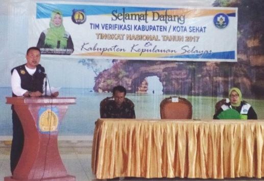 Program Kabupaten Sehat, Wujudkan, Selayar, Lebih Bersih, Sehat Dan Nyaman
