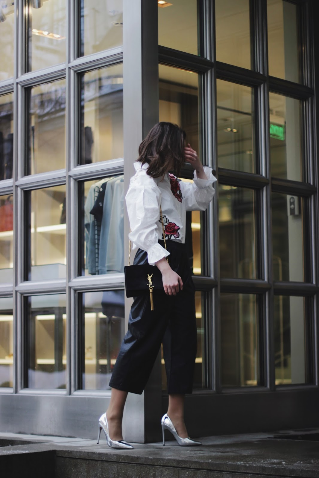 Street Style | Fashion Blogger | Embroidery Shirt