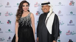 أنغام تتألق بالغناء بمشاركة مطرب العرب محمد عبده بالسعودية