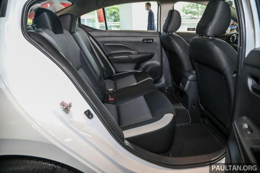 Gambar Bahagian Dalaman Belakang Nissan Almera 2020 Turbo