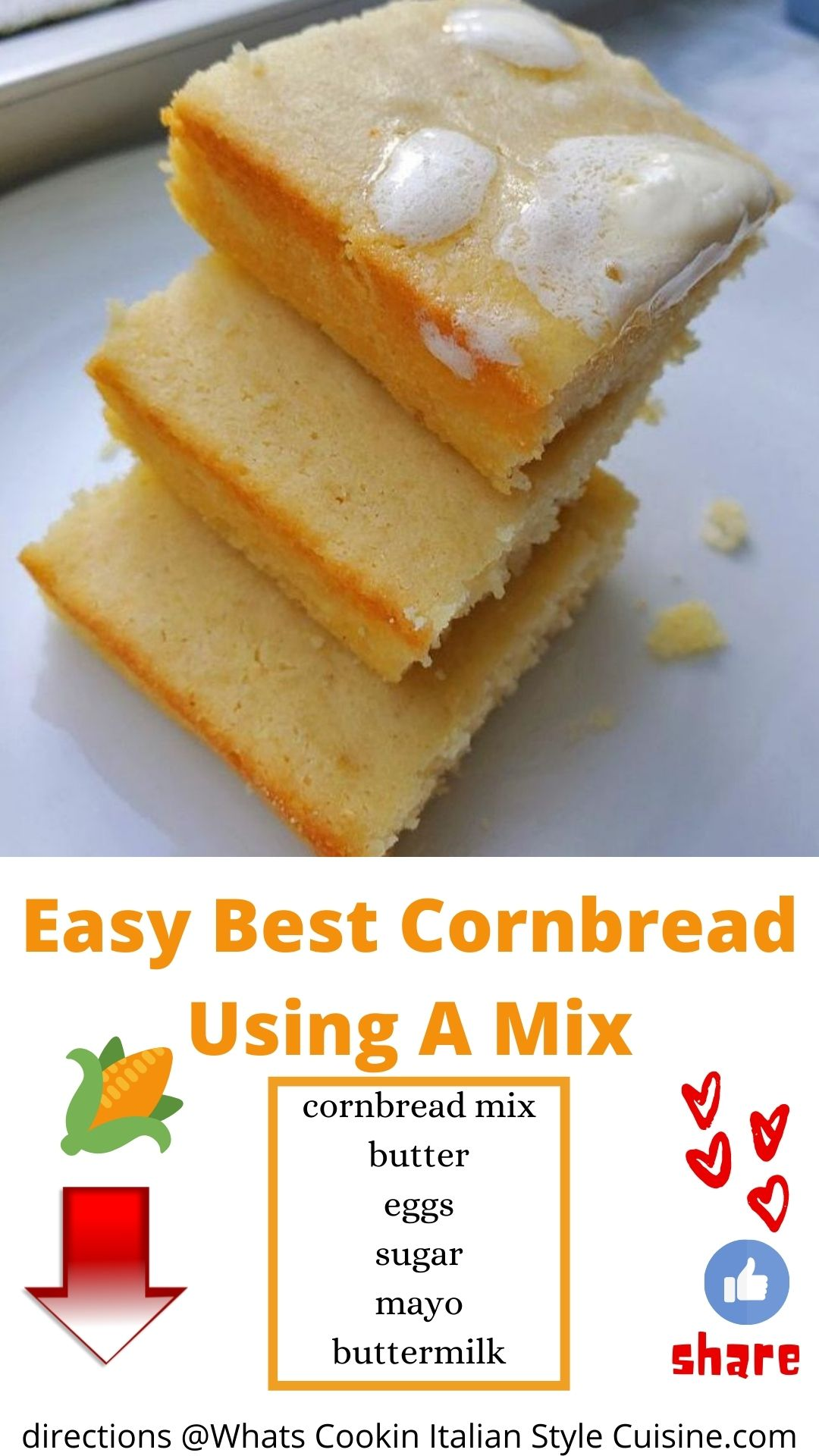 pin for later how to make cornbread mix muffins with mayo