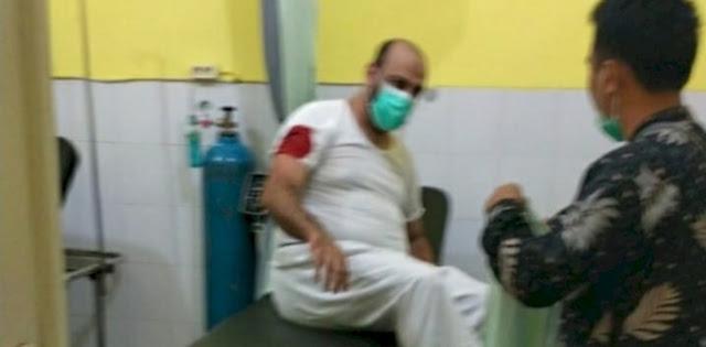 Syekh Ali Jaber Ditusuk Saat Isi Tabligh Di Bandarlampung