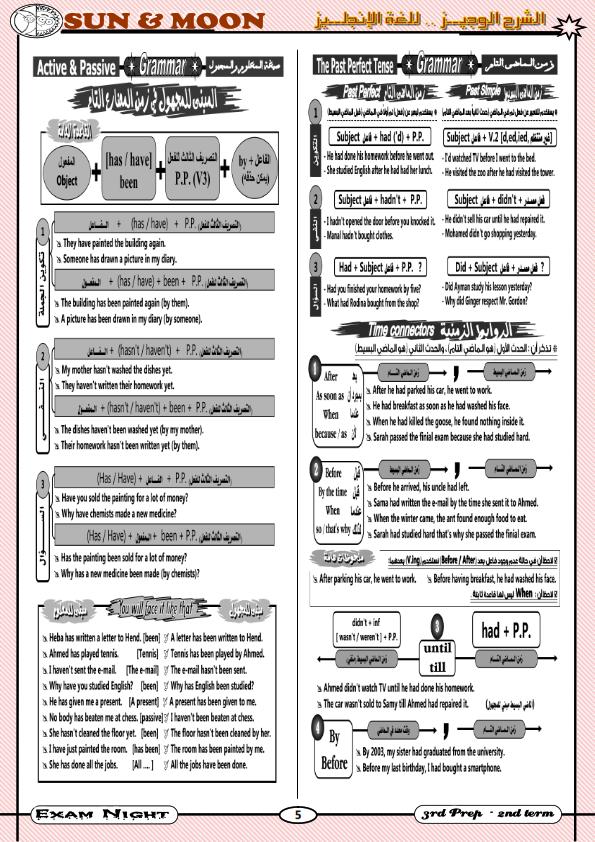 أقوى مراجعات اللغة الانجليزية للصف الثالث الاعدادي الترم الثاني Exam%2BNight-%2BSUN%2526MOON_006
