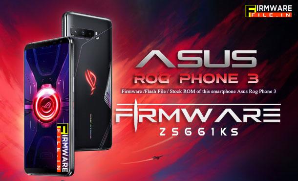 Firmware Asus Rog Phone 3