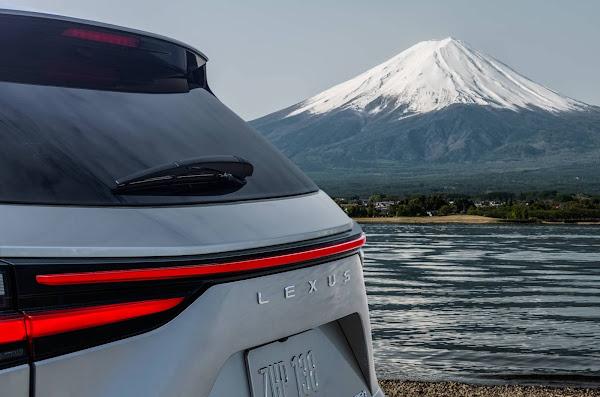 Novo Lexus NX 2022 será lançado dia 12; 1ª foto oficial divulgada