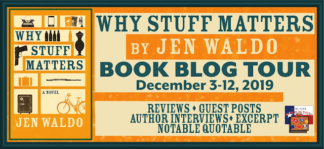 Why Stuff Matters book blog tour promotion banner