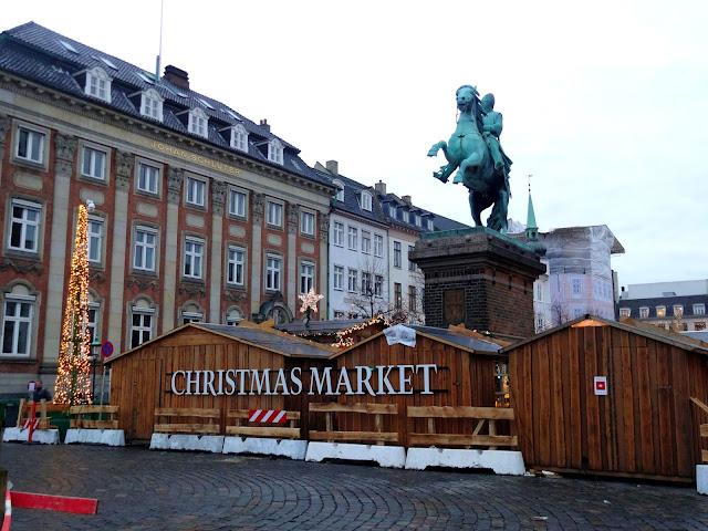Christmas Market in Copenhagen