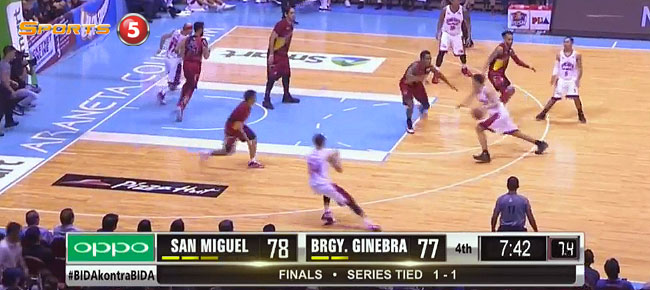San Miguel def. Ginebra, 99-88 (REPLAY VIDEO) Finals Game 3 / March 1