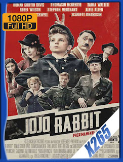 Jojo Rabbit Latino-Inglés (2019) BDRip H265 [1080p]  [Google Drive] Panchirulo