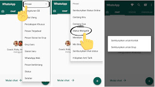Cara Agar WhatsApp Tidak Terlihat Sedang Mengetik