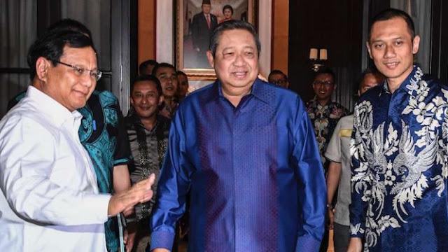 Prabowo: SBY Siap Turun Gunung jadi Juru Kampanye