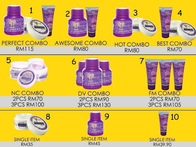 Floral Mask Lavender / Dian Vitamin C & E Extra Pearl / Nano Lightener Cream / Nano Removal Cream Murah